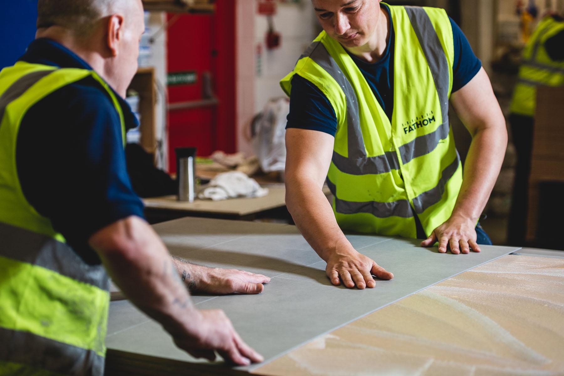 Tiling Sampling Display Building
